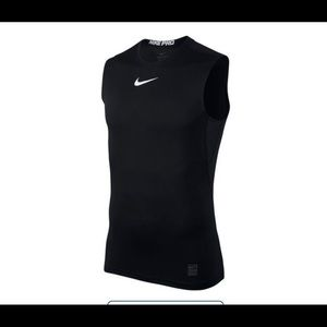 NIKE PRO DRY-FIT fitted Men's Sleeveless Shirt